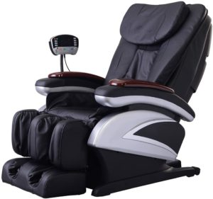 Electric Full Body Shiatsu Massage Chair Recliner for  Lower Back Pain