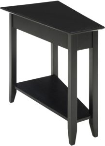 Convenience Concepts American Heritage Modern Wedge End Table