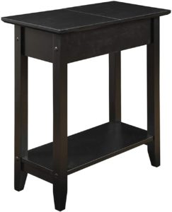 Convenience Concepts 7105059BL 600569 Flip Top Table