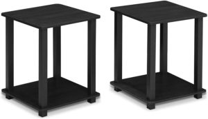 Furinno 12127AM/BK Simplistic End Table