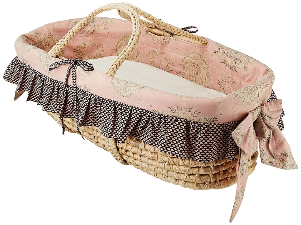 Cotton Tale Moses Designs Basket for Babies Nightingale