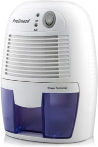 Pro Breeze Electric Bathroom Mini Dehumidifier