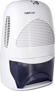Ivation IVADM35 Powerful Mid-Size Thermo-Electric Bathroom Dehumidifier