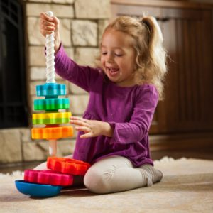 Fat Brain Toys Kids Spin again toy