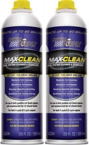 Royal Purple 11722-2PK Max-Clean Fuel System Cleaner and Stabilizer