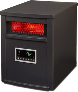 LifeSmart 6 Element Remote Large Room Infrared Heater