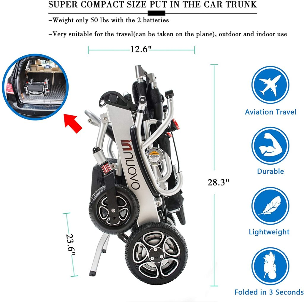 Reviews Top 8 Best Lightweight Electric Wheelchairs