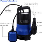 Homdox 1/2 HP Sump Submersible Water Pump