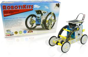 14-in-1 Educational Solar-powered Robot DIY Kit