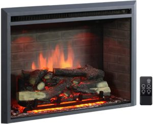 PuraFlame 30-Inches Western Electric Home Heater