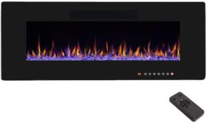 R.W.FLAME 50 Electric Fireplace