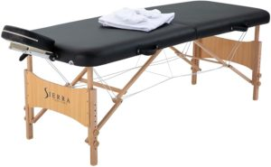 Sierra Comfort All Inclusive Portable Massage Table