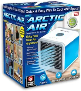 Arctic Portable Mini Evaporative Air Cooler