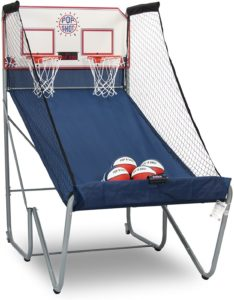 5. Pop-A-Shot Official Home Dual Shot Basketball Arcade Toy Game with 10 Individual Games