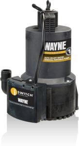 WAYNE 57729-WYN1 EEAUP250 Pool Water Removal Pump