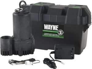 WAYNE ESP25 12 Volt Battery Back Up Sump Pump System