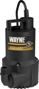 WAYNE RUP160 1/6 HP Oil Free Submersible Water Pump