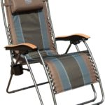 Timber Ridge Zero Gravity Chair Oversized Recliner Padded Folding Patio Lounge Chair