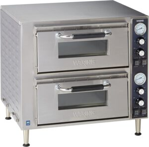 Waring Commercial Double Deck Pizza Convection Oven