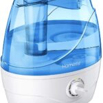 Homasy Small Cool Mist Ultrasonic Humidifier